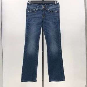 American eagle stretch original boot jeans sz 2 s